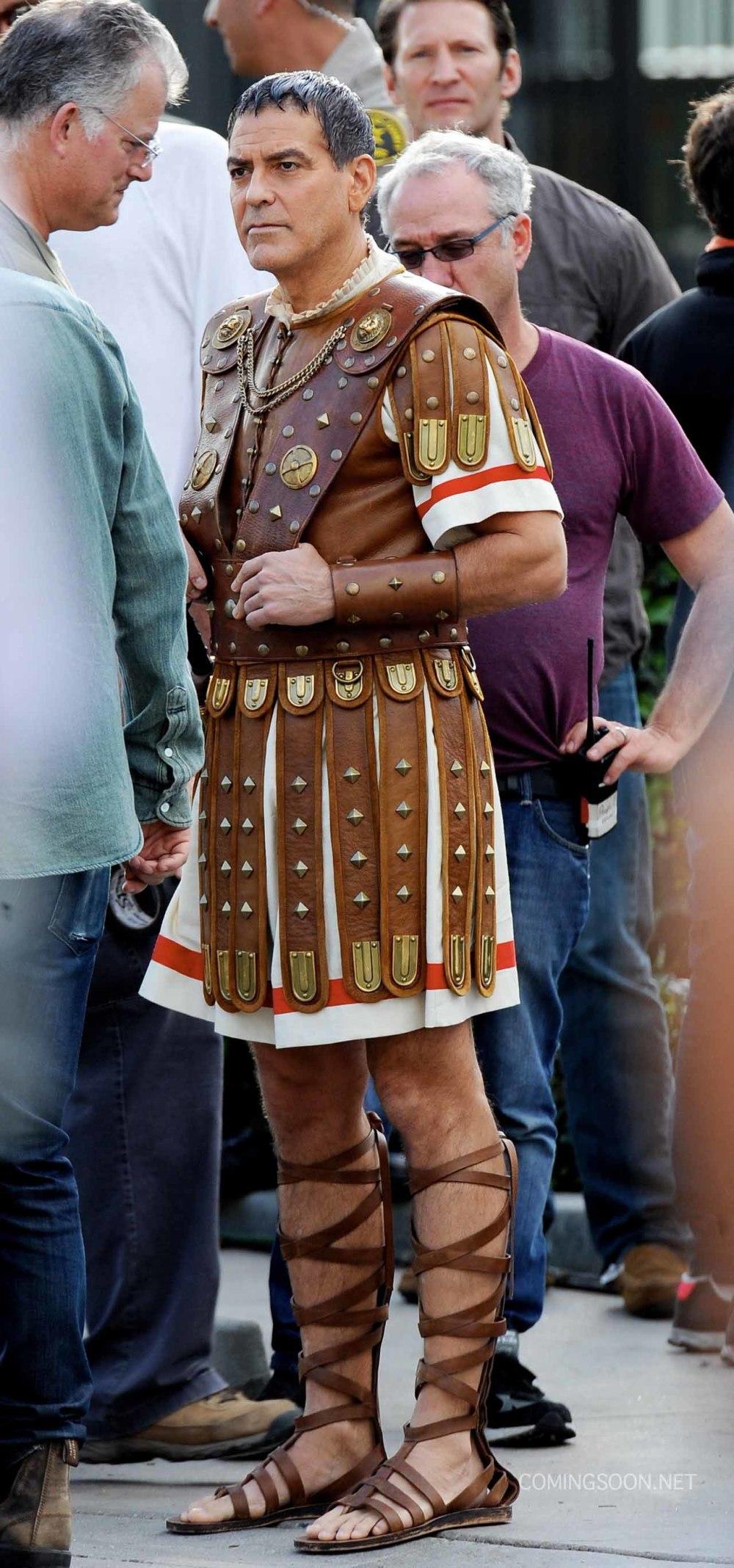 Eerste indruk: George Clooney als Julius Caesar in 'Hail Caesar!'