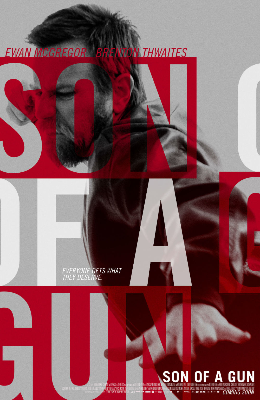 Nieuwe trailer en poster 'Son of a Gun' met Ewan McGregor