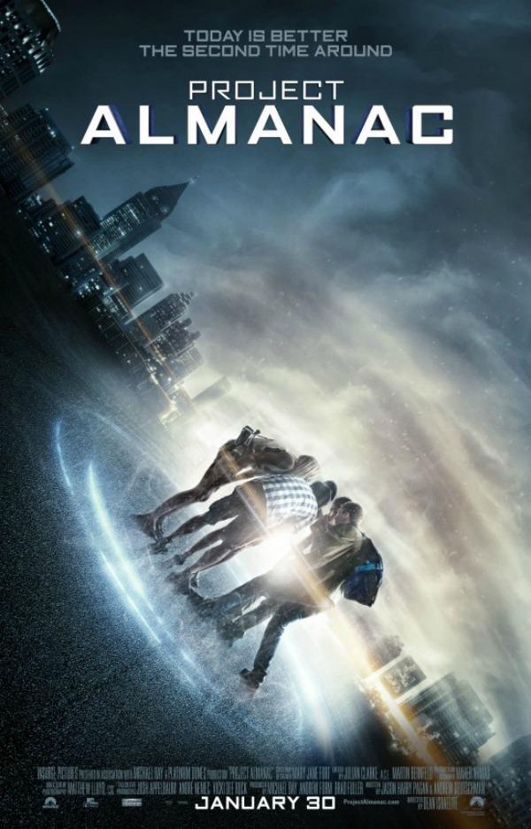 Trailer en poster voor found footage tijdreisfilm 'Project Almanac'