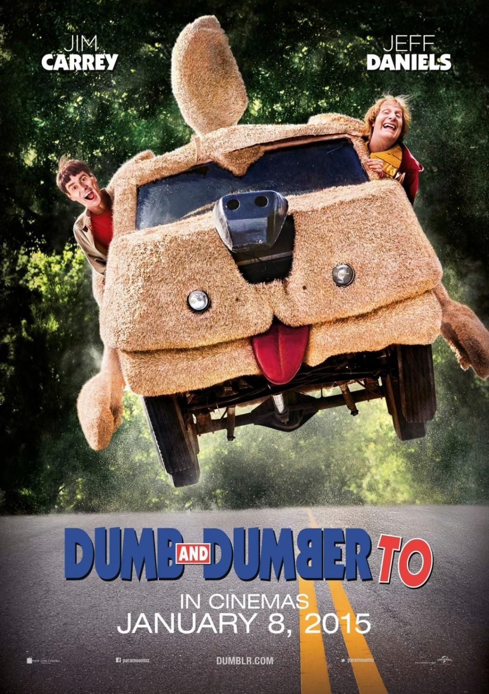Dom geluk voor 'Dumb and Dumber To'