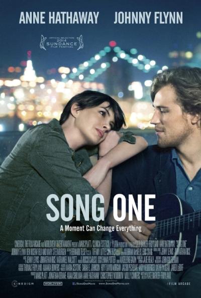 Eerste trailer muziekfilm 'Song One' met een verliefde Anne Hathaway