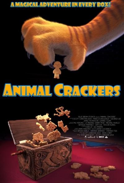 Sylvester Stallone en Ian McKellen doen zich tegoed aan 'Animal Crackers'