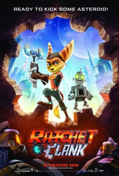 Eerste poster animatiefilm 'Ratchet & Clank'