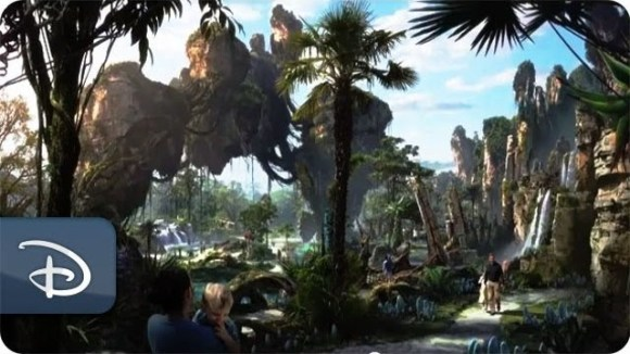 Blik op Disneys Avatar Park