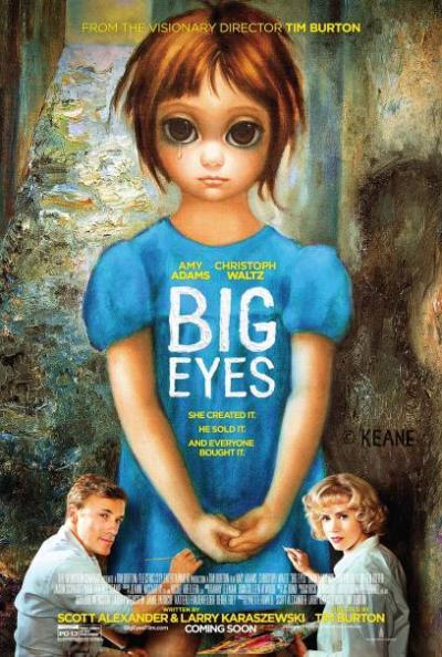Christoph Waltz en Amy Adams op nieuwe poster 'Big Eyes'