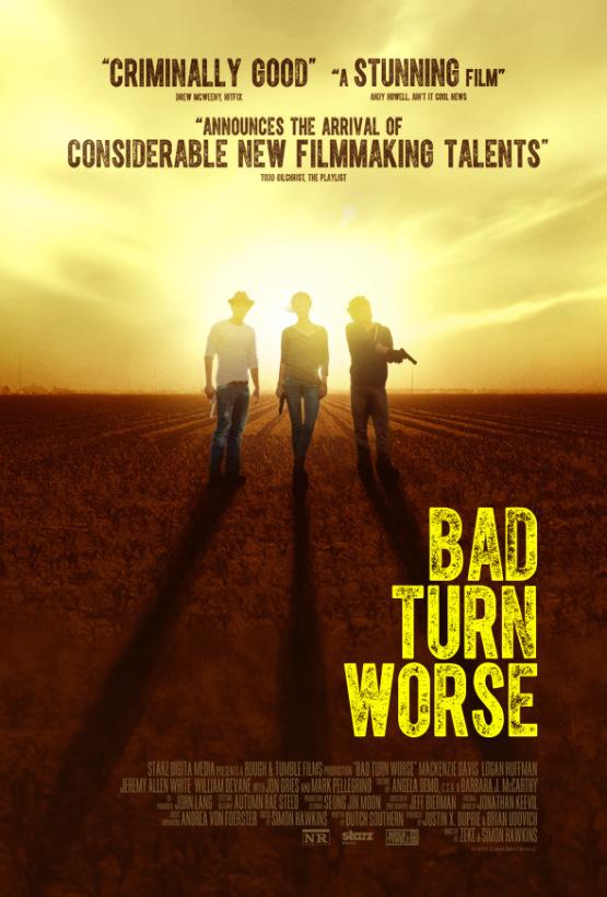 Eerste trailer voor thriller 'Bad Turn Worse' (aanrader)