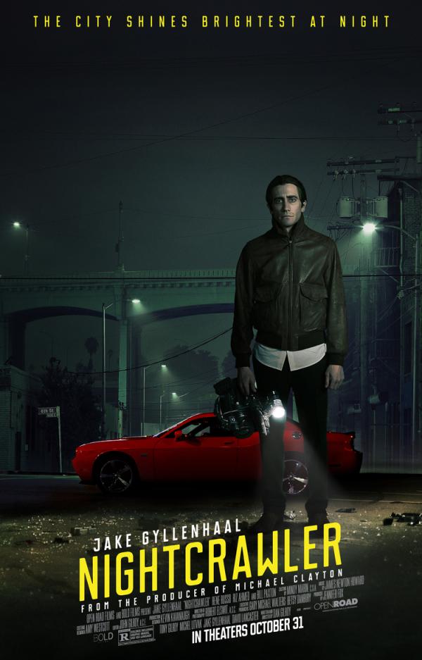Eerste tv-spot Jake Gyllenhaals 'Nightcrawler'