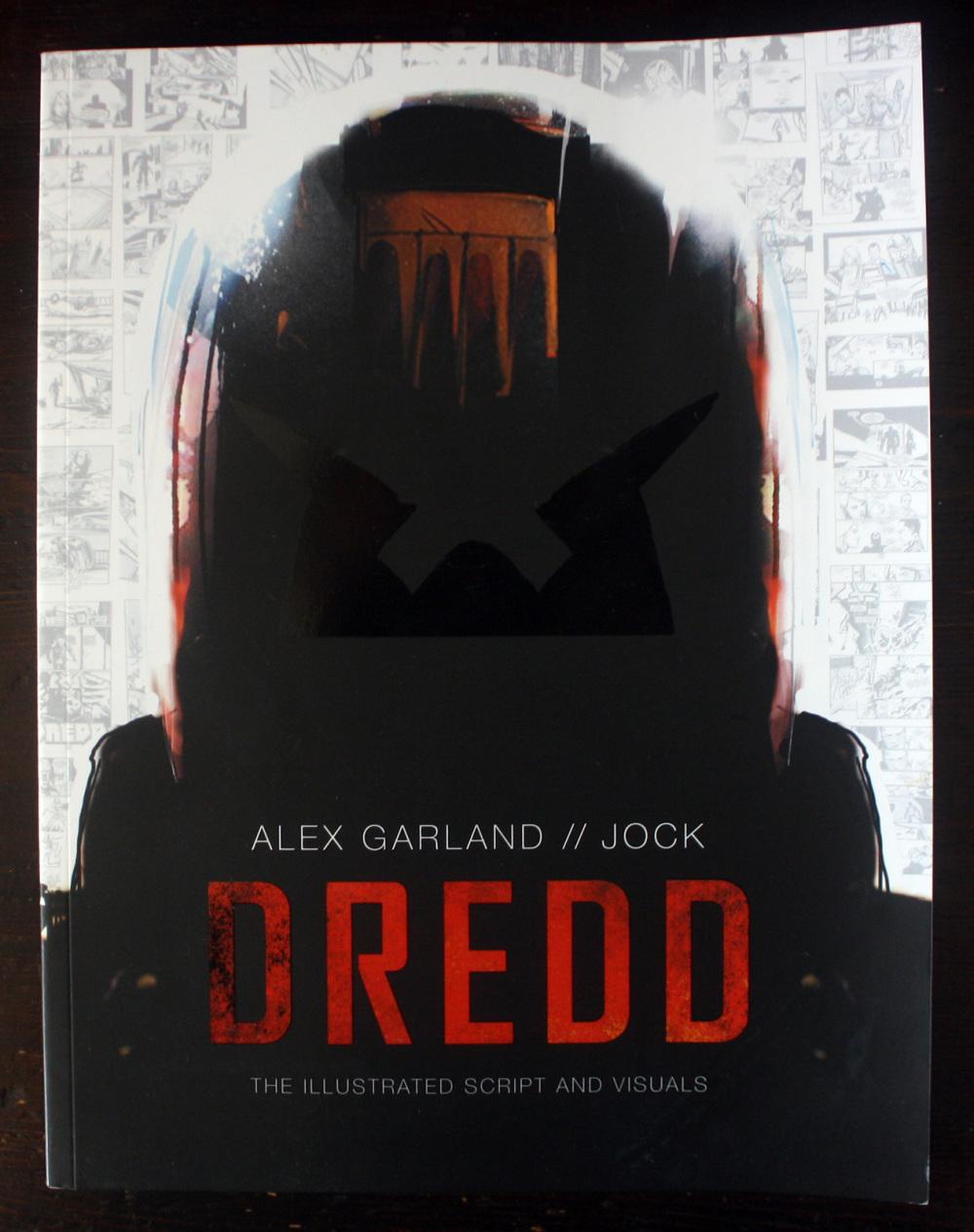 Fraai boek - Dredd: The Illustrated Script and Visuals