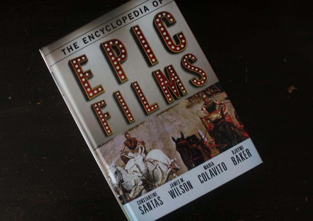 Fraai boek - The Encyclopedia of Epic Films