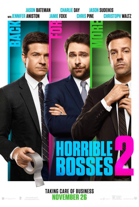 Eerste volledige trailer 'Horrible Bosses 2'
