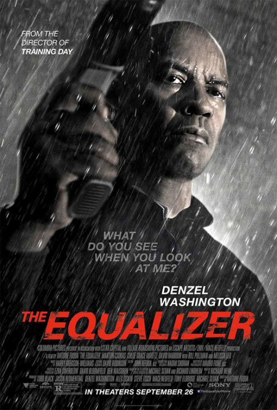 Nieuwe poster & trailer 'The Equalizer'