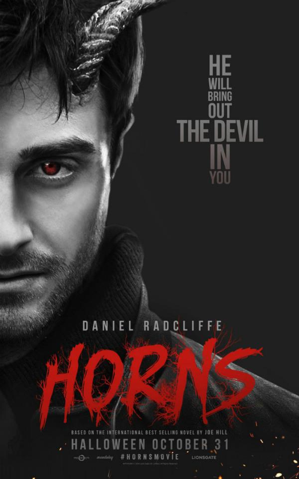 Twee nieuwe posters 'Horns'