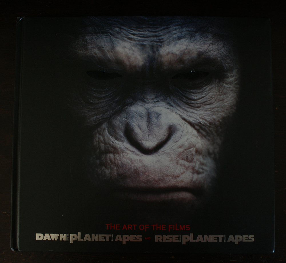 Fraai boek - The Art of the Films Dawn of the Planet of the Apes and Rise of the Planet of the Apes