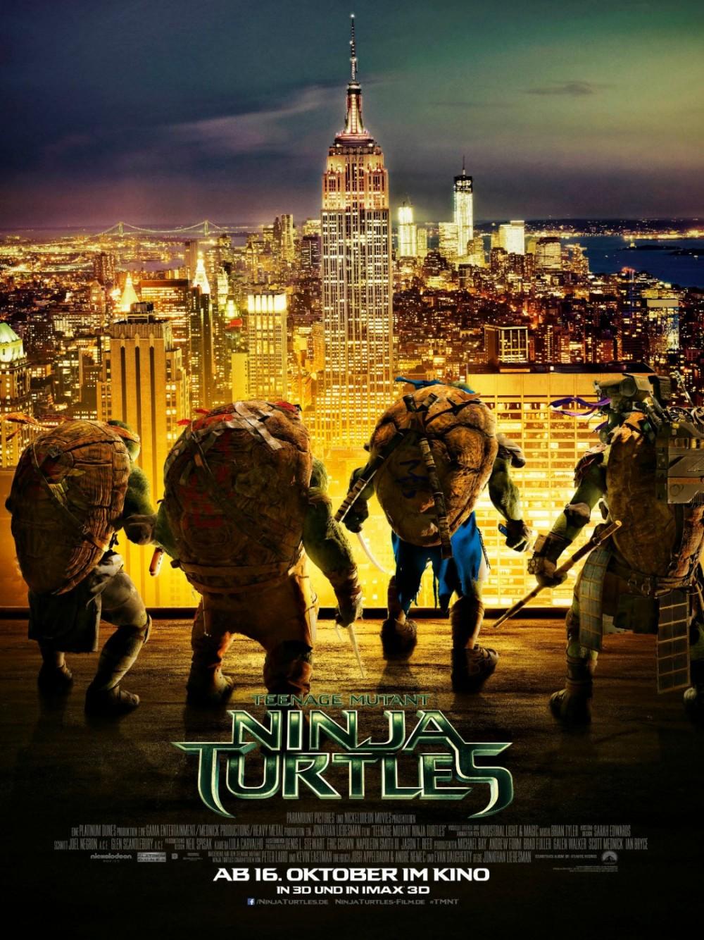 En hoe wordt 'Teenage Mutant Ninja Turtles' ontvangen?