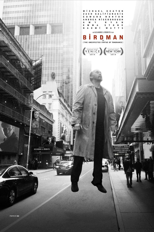 Nieuwe trailer & poster 'Birdman' van de regisseur van 'Biutiful'