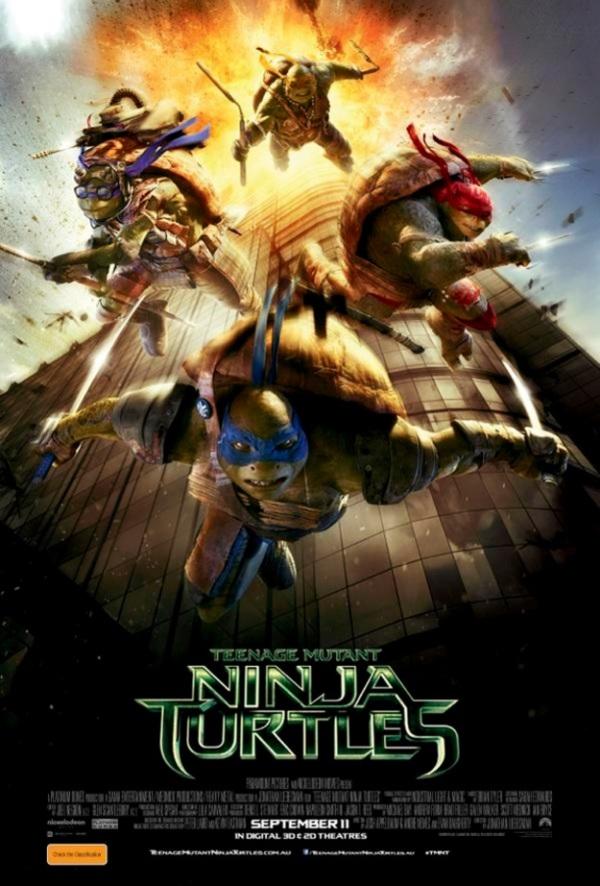 Controverse rond 9/11-poster 'Teenage Mutant Ninja Turtles'