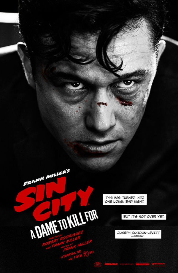 SDCC: 'Sin City: A Dame to Kill For' poster