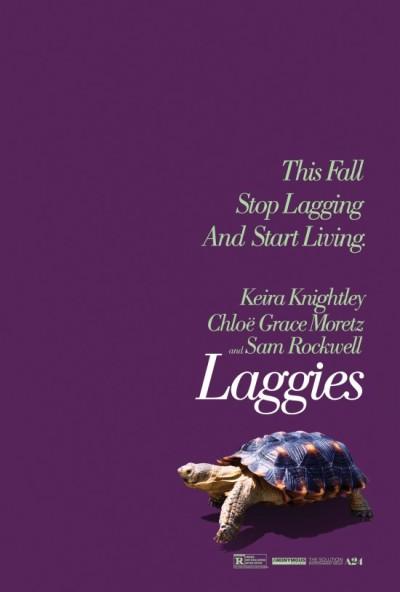 Keira Knightley wil niet volwassen worden in de eerste 'Laggies' trailer