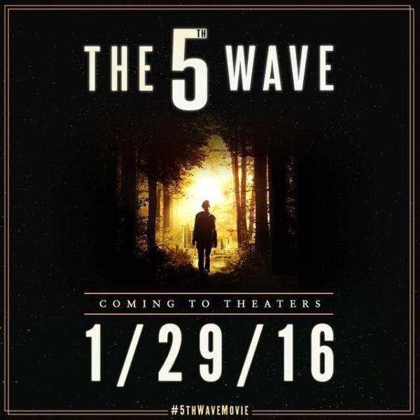 Eerste artwork 'The 5th Wave' met Chloë Grace Moretz