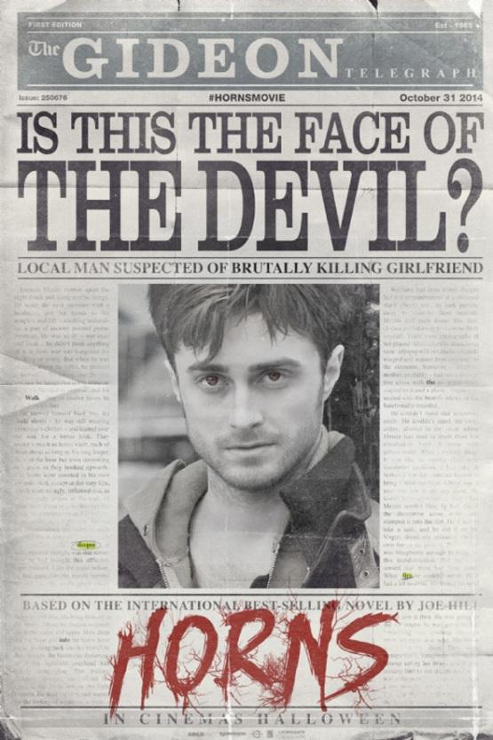 Eerste teaser trailer 'Horns' met een kwaadaardige Daniel Radcliffe