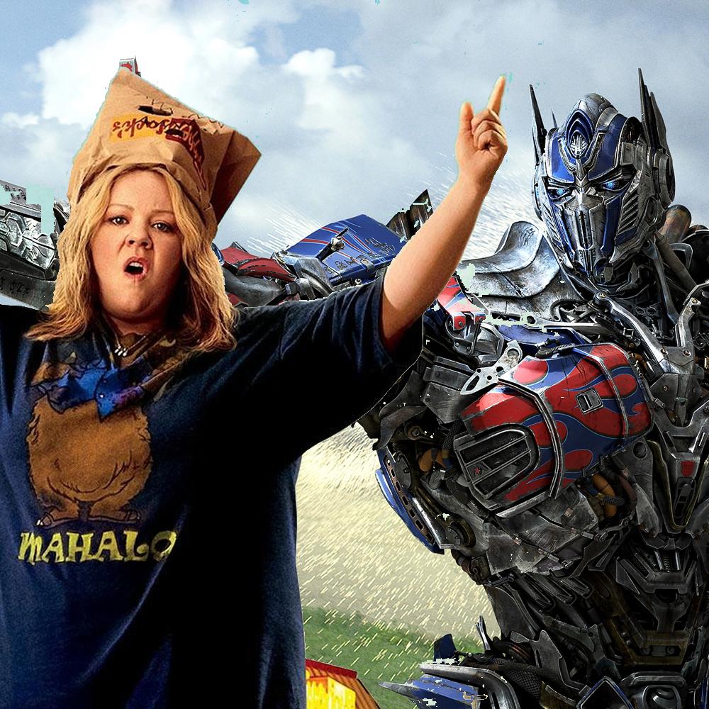Melissa McCarthy's 'Tammy' kietelt kaskraker 'Transformers: Age of Extinction'