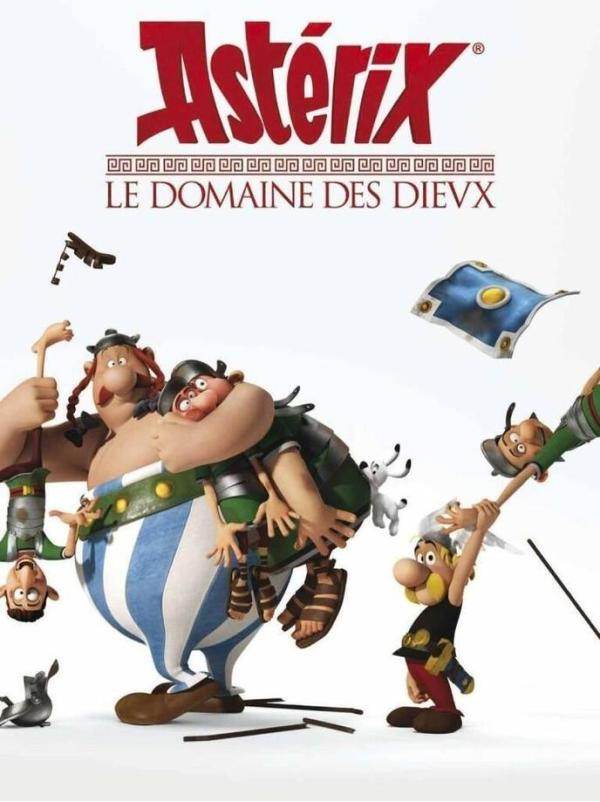 Teaser & posters 'Asterix: The Land of the Gods'