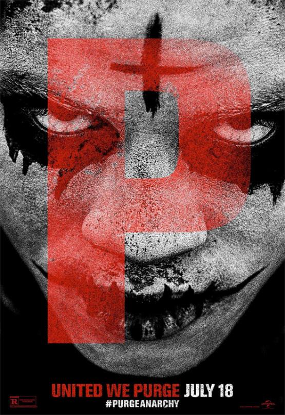 Nieuwe 'The Purge: Anarchy' posters tonen alle gemaskerde maniakken