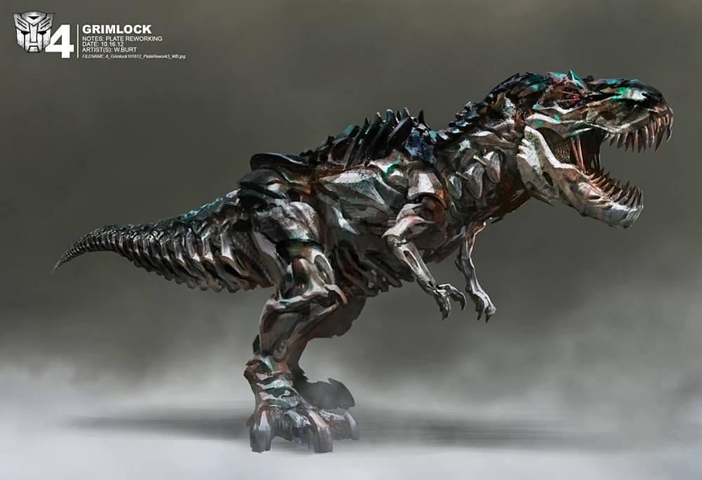 Dinobots concept art 'Transformers: Age of Extinction'