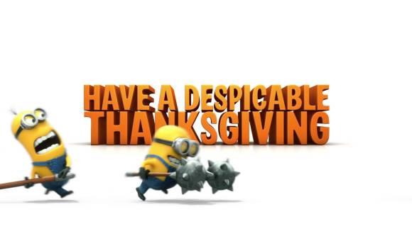 Speciaal promotiefilmpje voor Thanksgiving.
