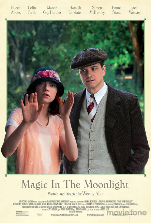 Emma Stone en Colin Firth op nieuwe poster 'Magic in the Moonlight'