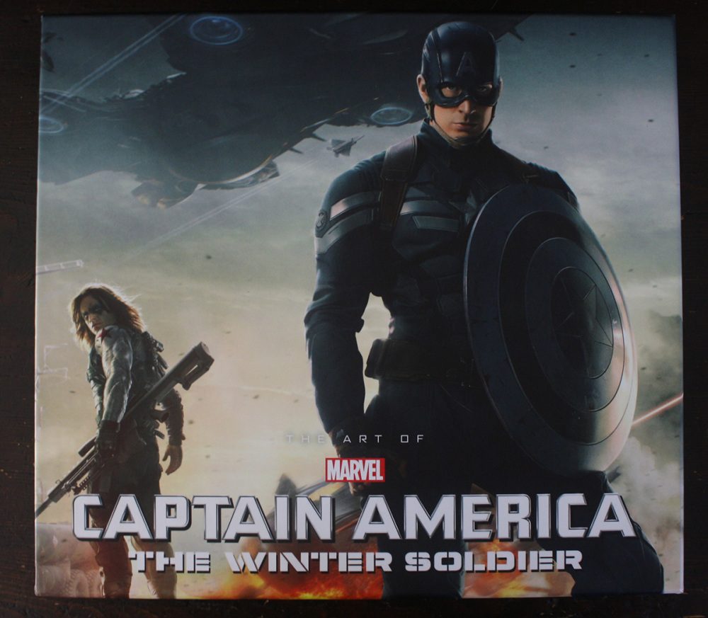 Fraai boek - The Art of Marvel's Captain America: The Winter Soldier