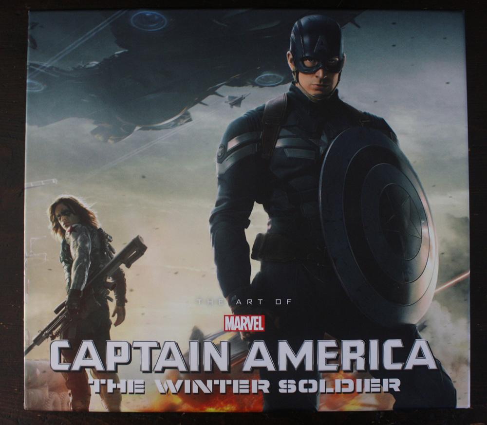 Fraai boek - The Art of Marvel's Captain America: The Winter Soldier