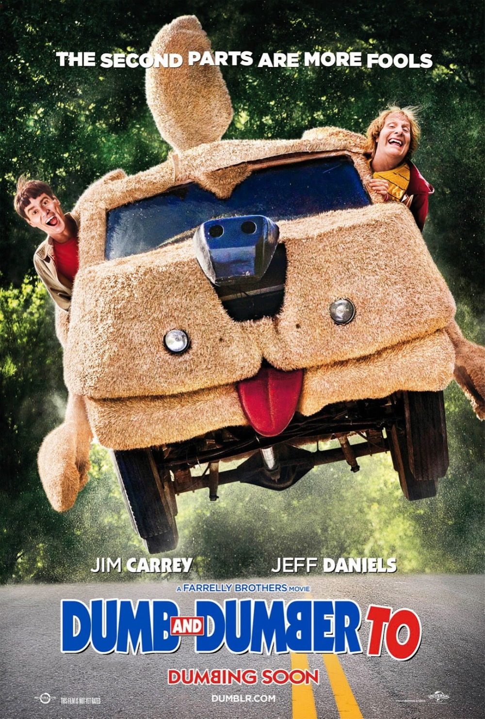Nieuwe poster 'Dumb and Dumber To'