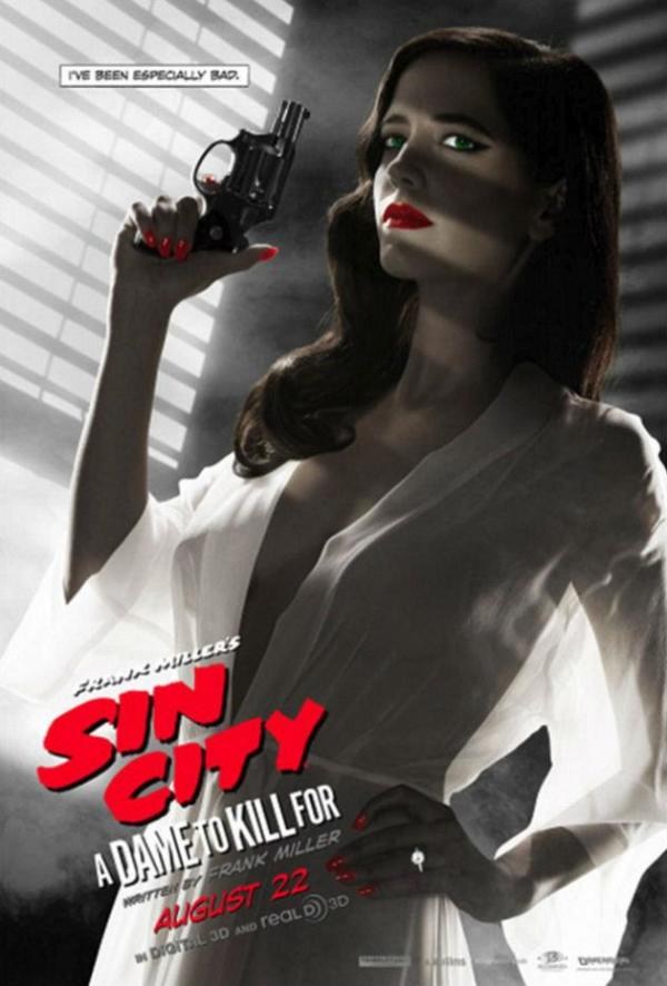 Eva Green reageert op postercontroverse 'Sin City: A Dame to Kill For'