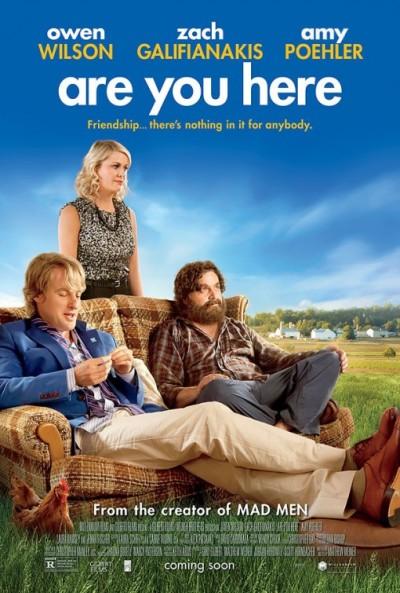 Trailer 'Are You Here' met Owen Wilson en Zach Galifianakis