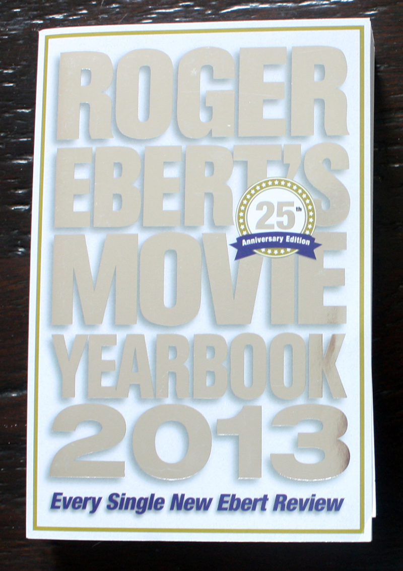 Fraai boek - Roger Eberts Movie Yearbook 2013