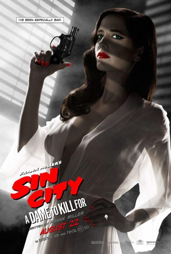 """Bekijk een wegens """"te naakt"""" afgewezen poster 'Sin City: A Dame to Kill For'"""