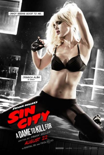 Vijf personageposters 'Sin City: A Dame to Kill'