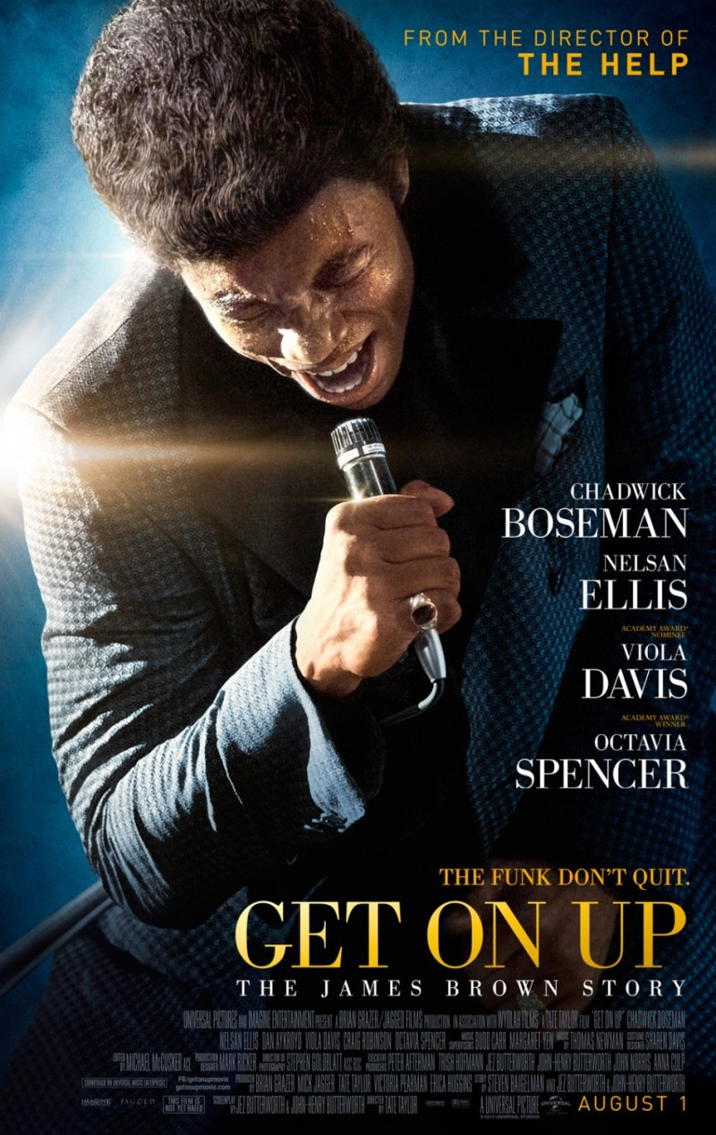 Trailer & poster James Brown-biopic 'Get On Up'