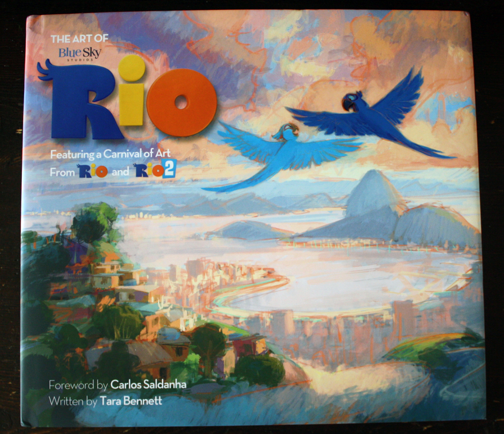 Fraai boek - The Art of Rio
