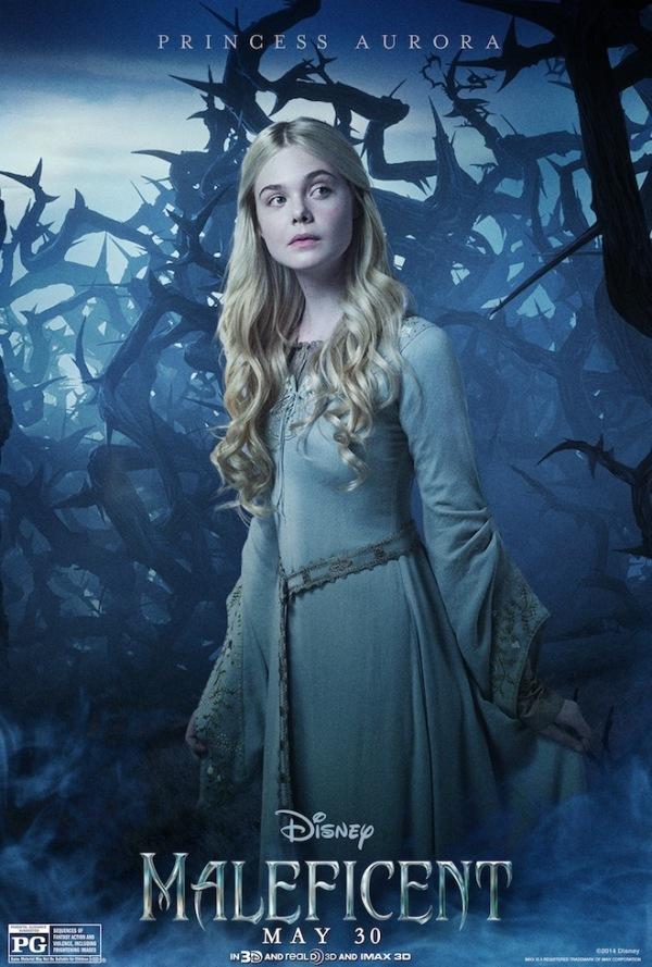 Vijf nieuwe personageposters 'Maleficent'