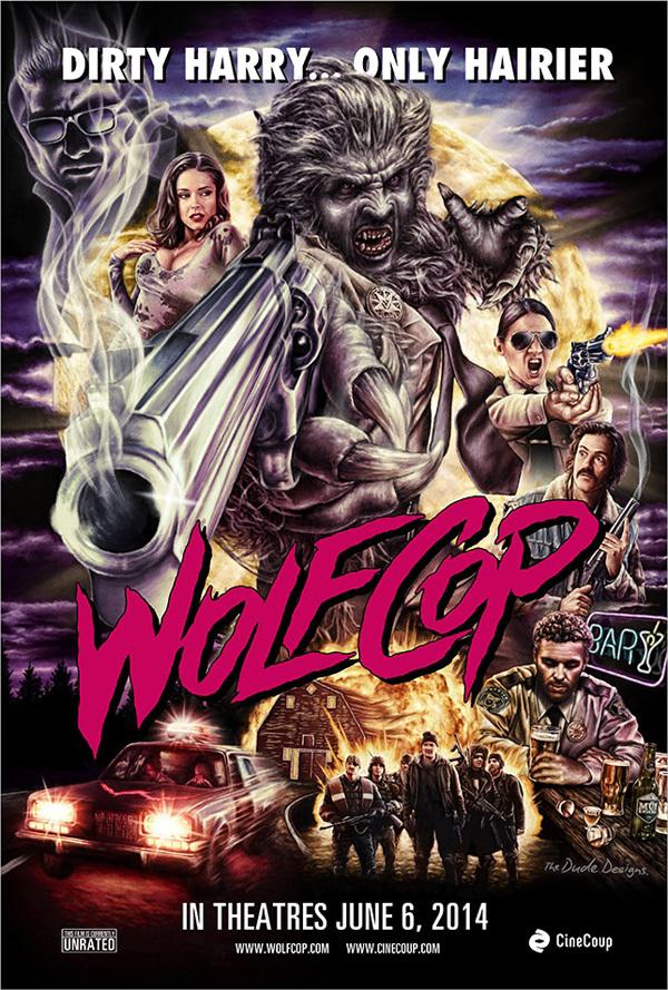 Losgeslagen trailer 'Wolfcop'