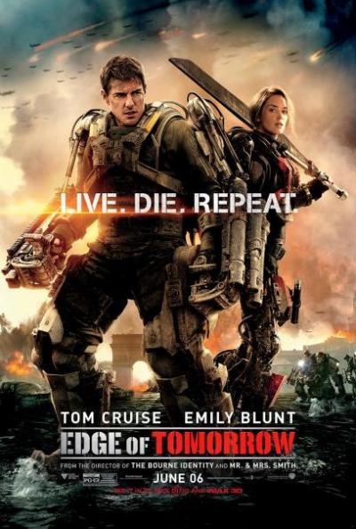 Cruise en Blunt zijn klaar voor de strijd op nieuwe poster 'Edge of Tomorrow'