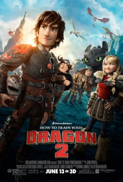 Nieuwe trailer 'How to Train Your Dragon 2'