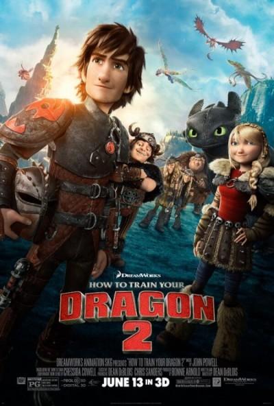 Nieuwe trailer 'How to Train Your Dragon 2'