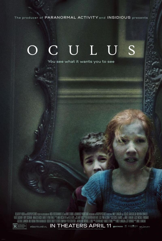 Volledige trailer & poster horrorfilm 'Oculus'