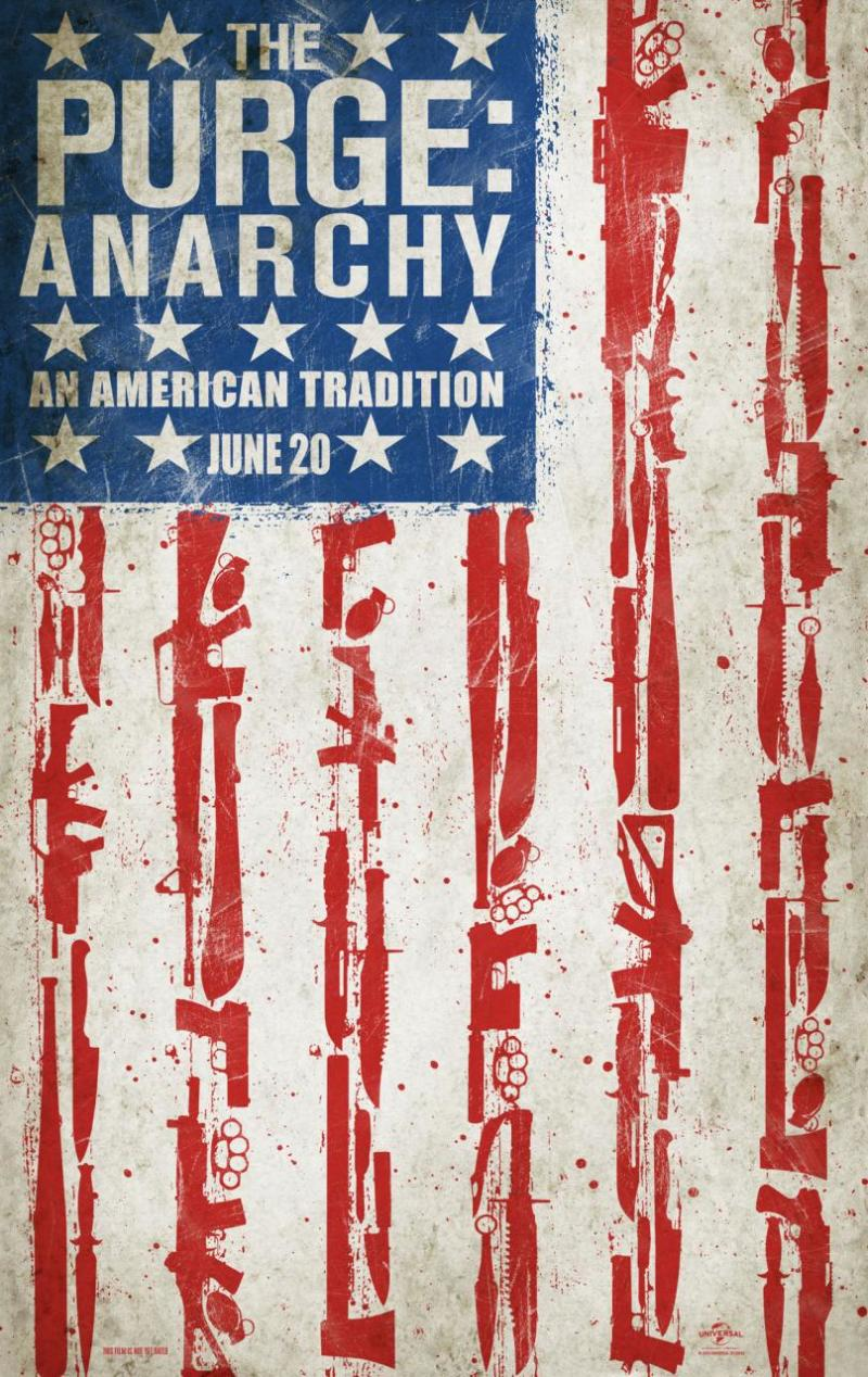 Teaser trailer & poster 'The Purge: Anarchy'