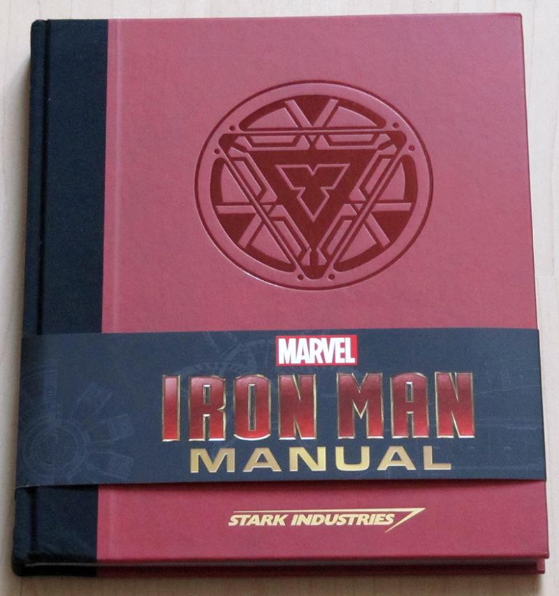 Fraai boek - Iron Man Manual