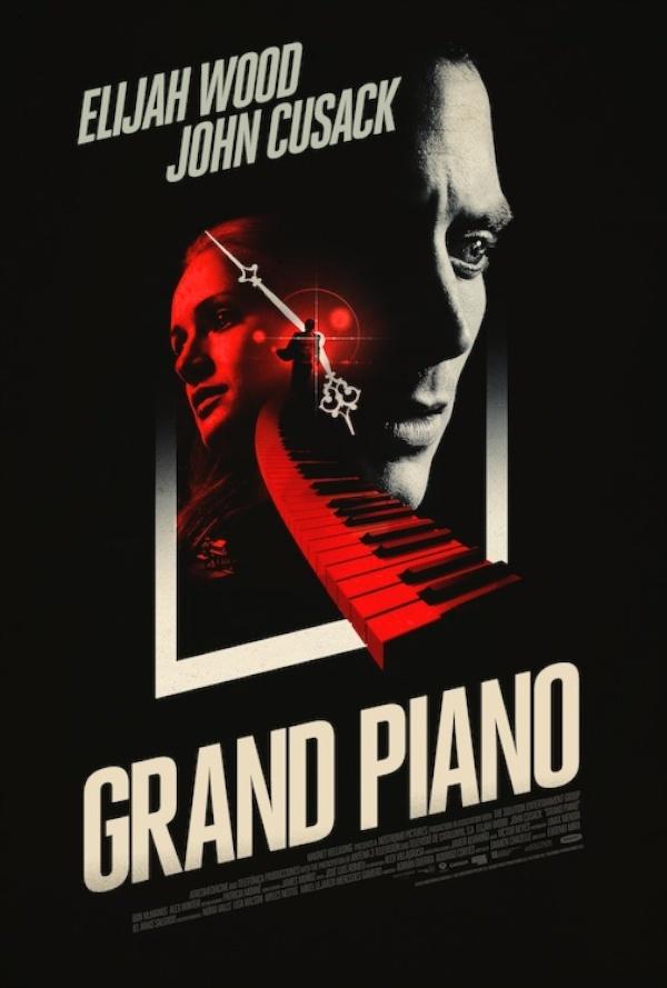 Nieuwe poster en tv-spot 'Grand Piano' met Elijah Wood