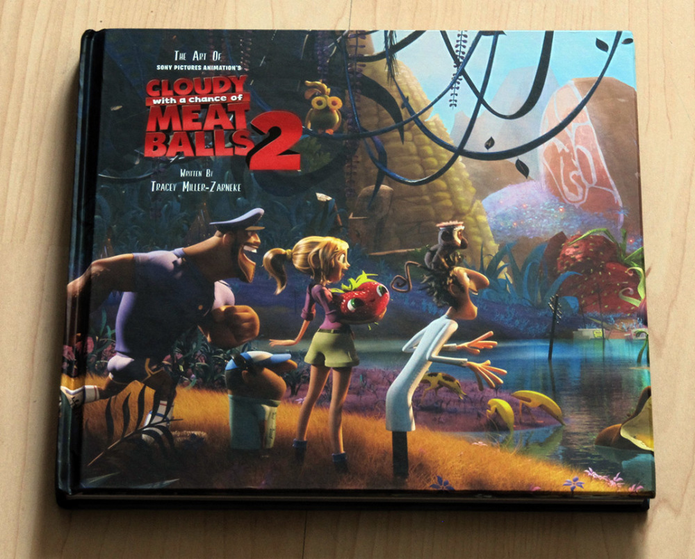 Fraai boek - The Art of Cloudy with a Chance of Meatballs 2